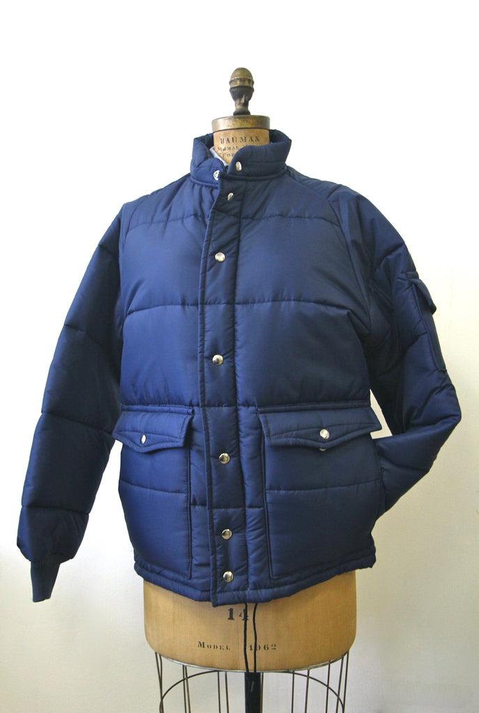 Vintage Swingster Navy Blue Jacket