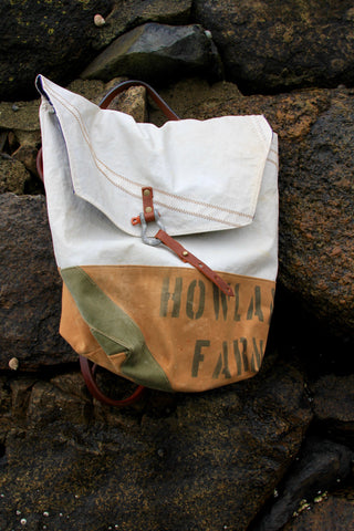 "Diamonds and Rust + Second Wind Sails ""Canvas & Sail"" Backpack"