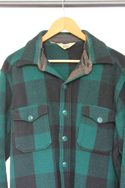 Vintage Woolrich Buffalo Plaid Jacket - Diamonds & Rust