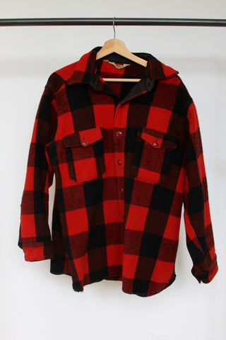 Vintage Woolrich Buffalo Plaid Over Shirt
