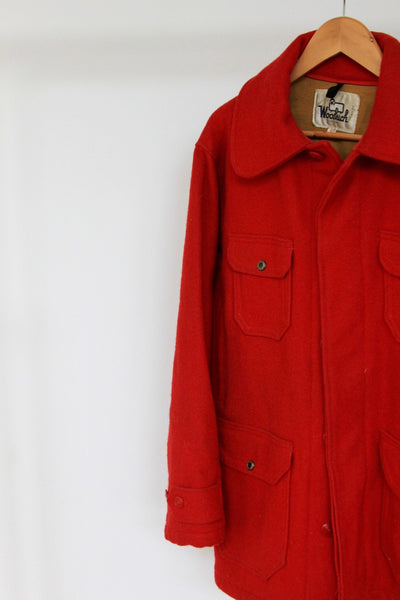 Vintage 1960s Woolrich Hunting Jacket - Diamonds & Rust