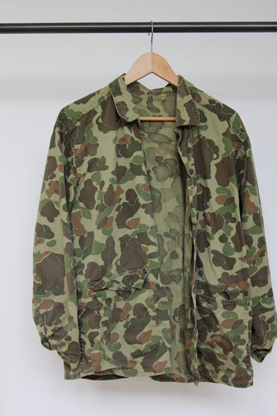Vintage Camo Overshirt - Diamonds & Rust