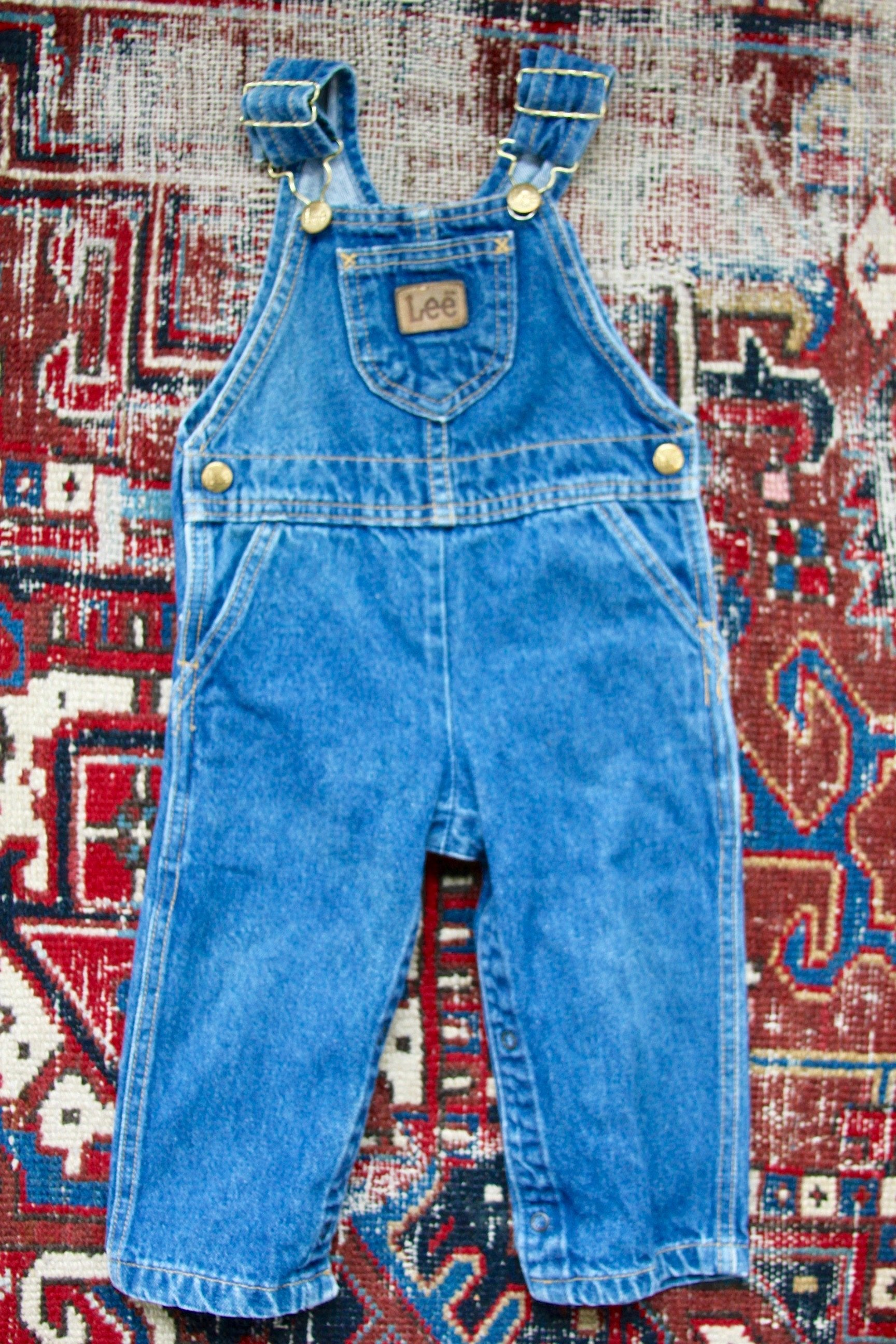 Vintage OshKosh Overalls - Diamonds & Rust