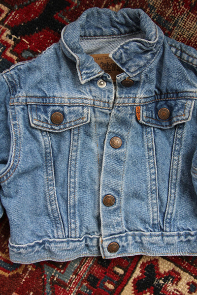 Vintage Levi's Denim Jacket - Kids - Diamonds & Rust