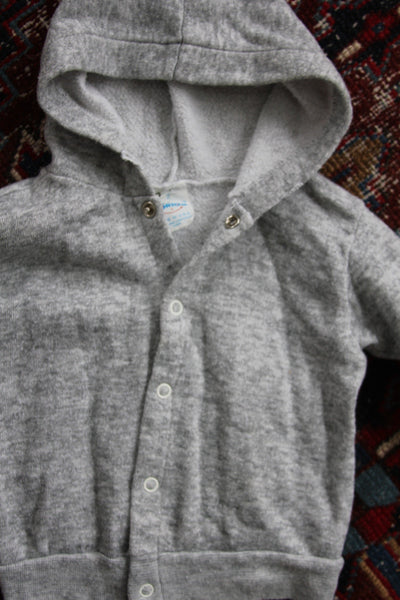Vintage Grey Hoodie - Kids - Diamonds & Rust
