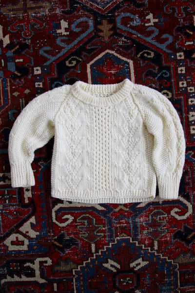 Vintage Fisherman's Sweater - Kids - Diamonds & Rust