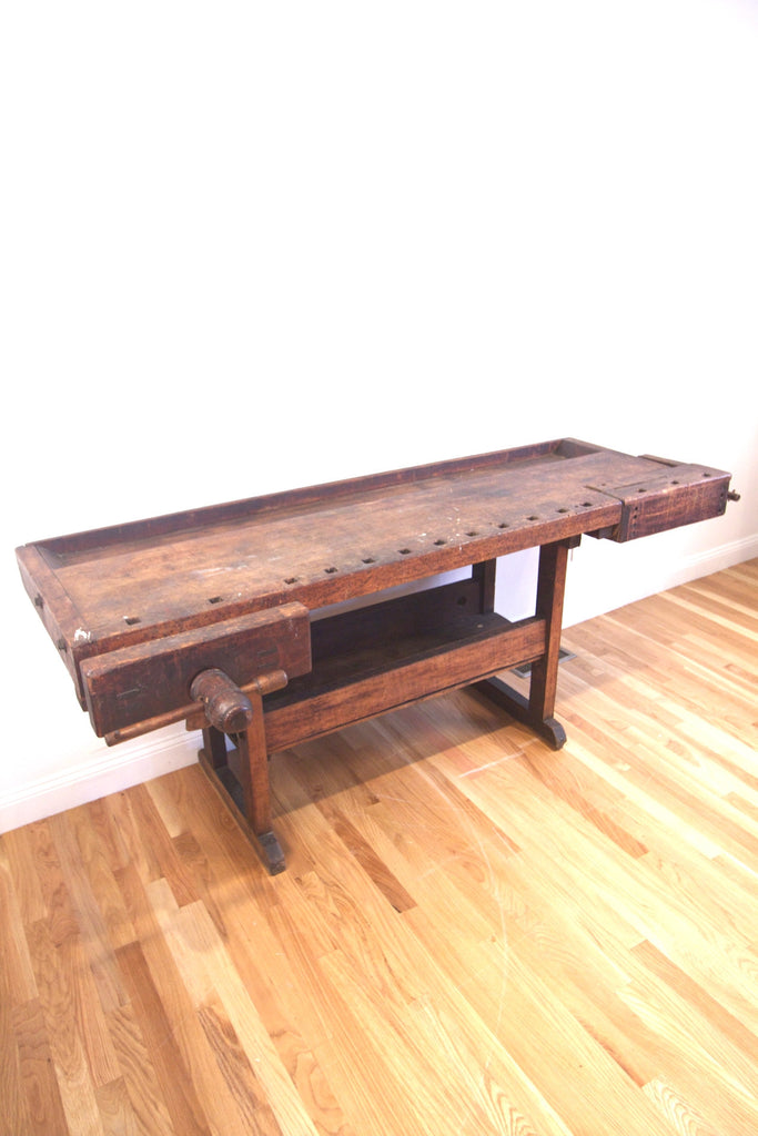 Antique Wood Workbench