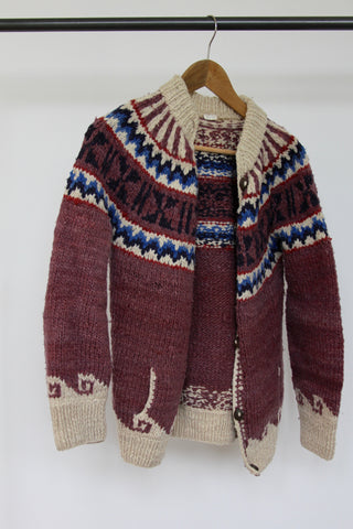 Vintage Hand Woven Sweater