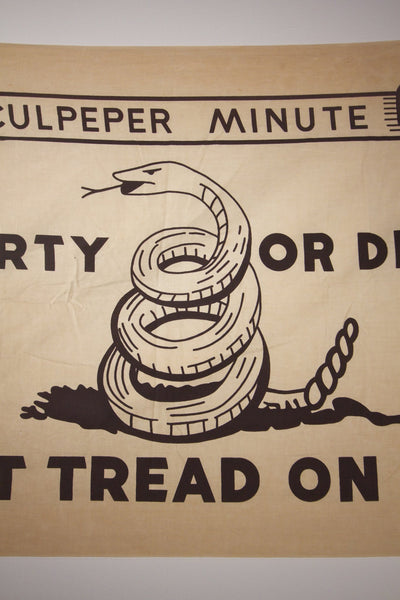 1950s Don't Tread on Me Flag - Diamonds & Rust