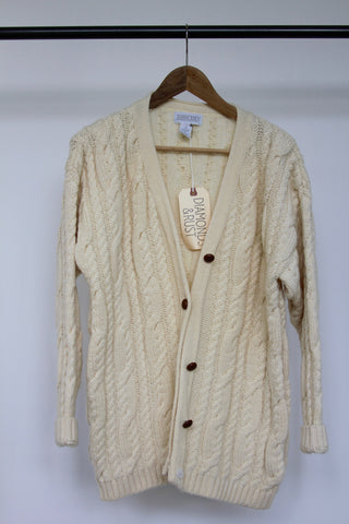 Vintage Fisherman's Sweater: Small