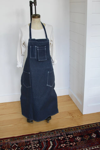Vintage Dead Stock Denim Apron