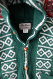 Vintage Hooded Cardigan Sweater