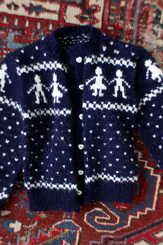 Vintage Friends Cardigan Sweater