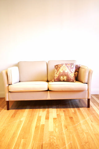 Vintage Danish Two Seater Sofa