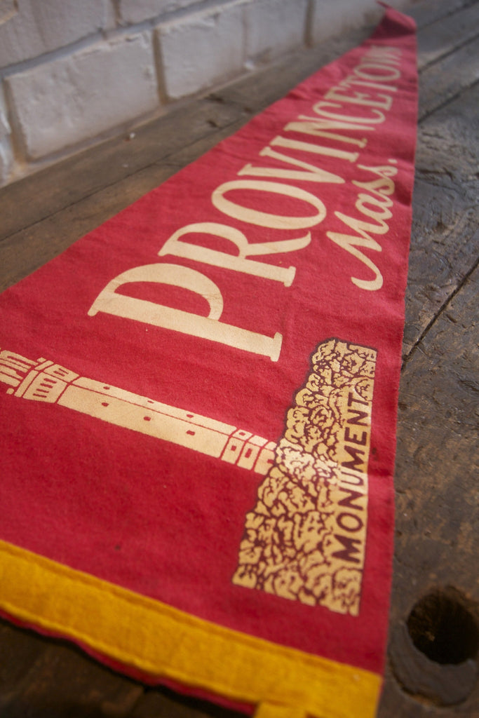 Vintage Provincetown Mass Pennant