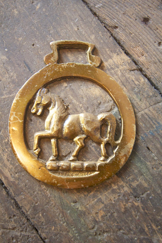 Vintage Brass Horse Bottle Opener