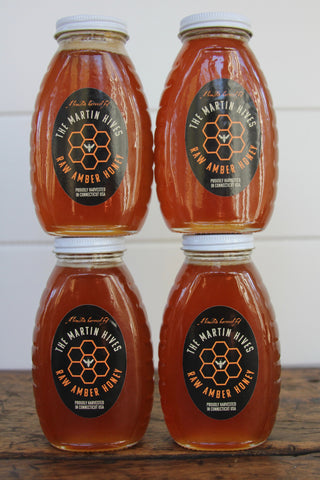 "The Martin Hives ""Raw Amber Honey"" 16oz"