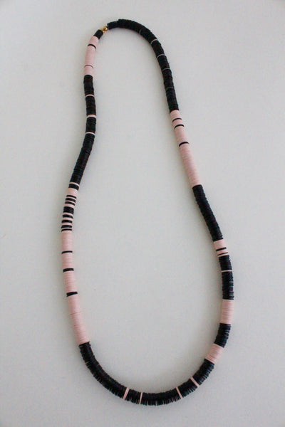 My Arrow Beaded Necklace - Diamonds & Rust