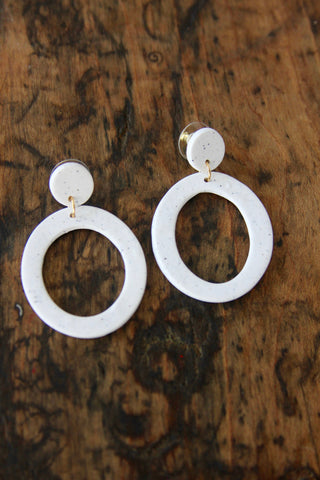 "Moona Custom ""Circle"" Earrings"