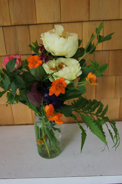 6/5 Fresh Flower Friday Bouquets - Diamonds & Rust