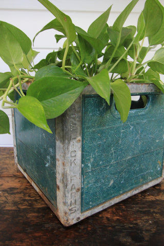 Vintage Garelick Farms Milk Crate