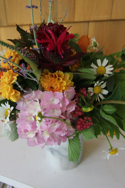 7/3 Fresh Flower Friday Bouquets - Diamonds & Rust