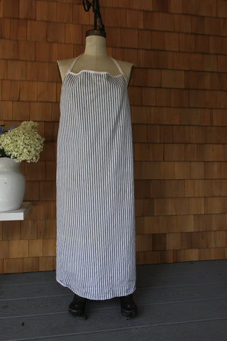 Vintage Ticking Apron