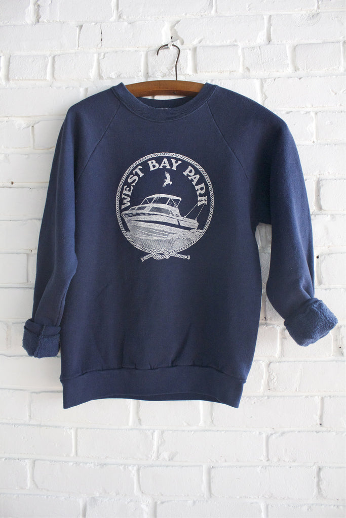 Vintage West Bay Park Crew Neck