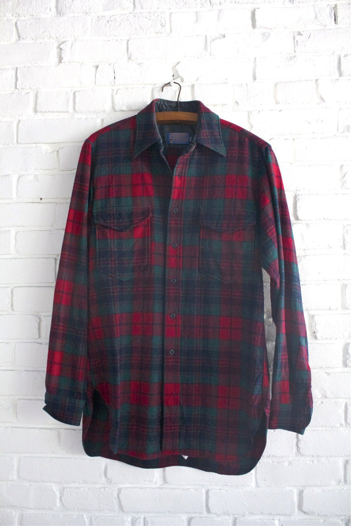 Vintage Pendleton Wool Plaid Shirt
