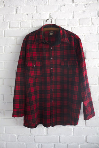 1960s  Woolrich Plaid Shirt