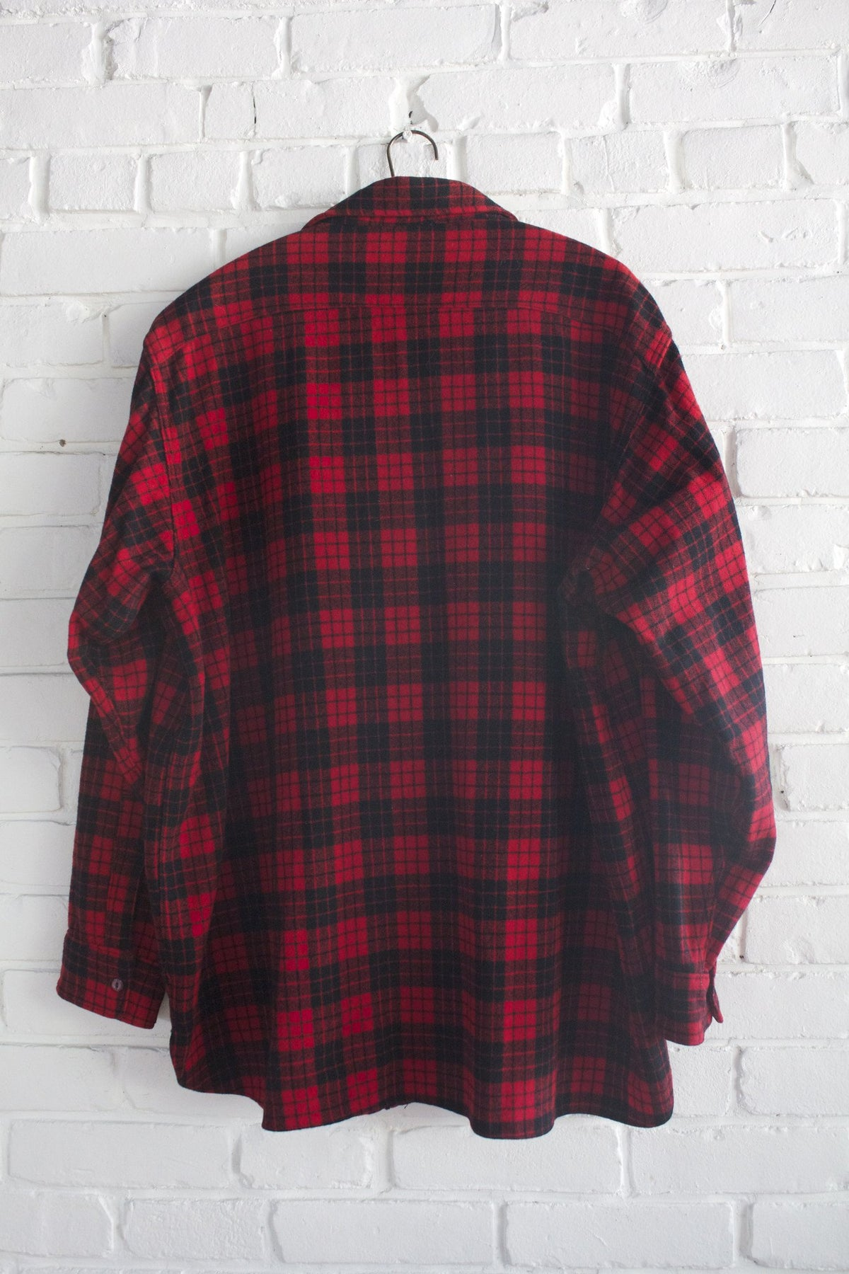 1960s Woolrich Plaid Shirt - Diamonds & Rust