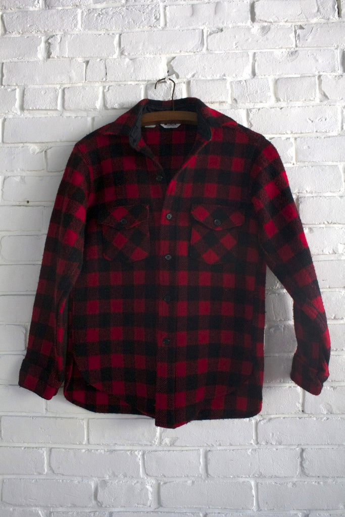 Vintage Woolrich Buffalo Plaid