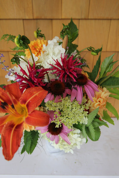 7/18 Fresh Flower Friday Bouquets - Diamonds & Rust