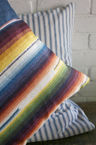 "D&R Mexican Serape 18"" Pillow"