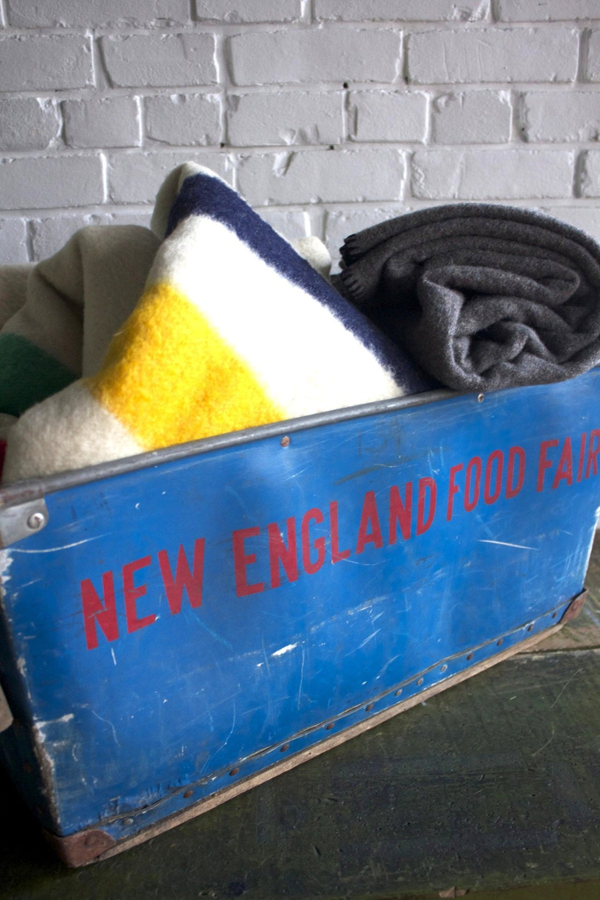 New England Food Fair Bin - Diamonds & Rust