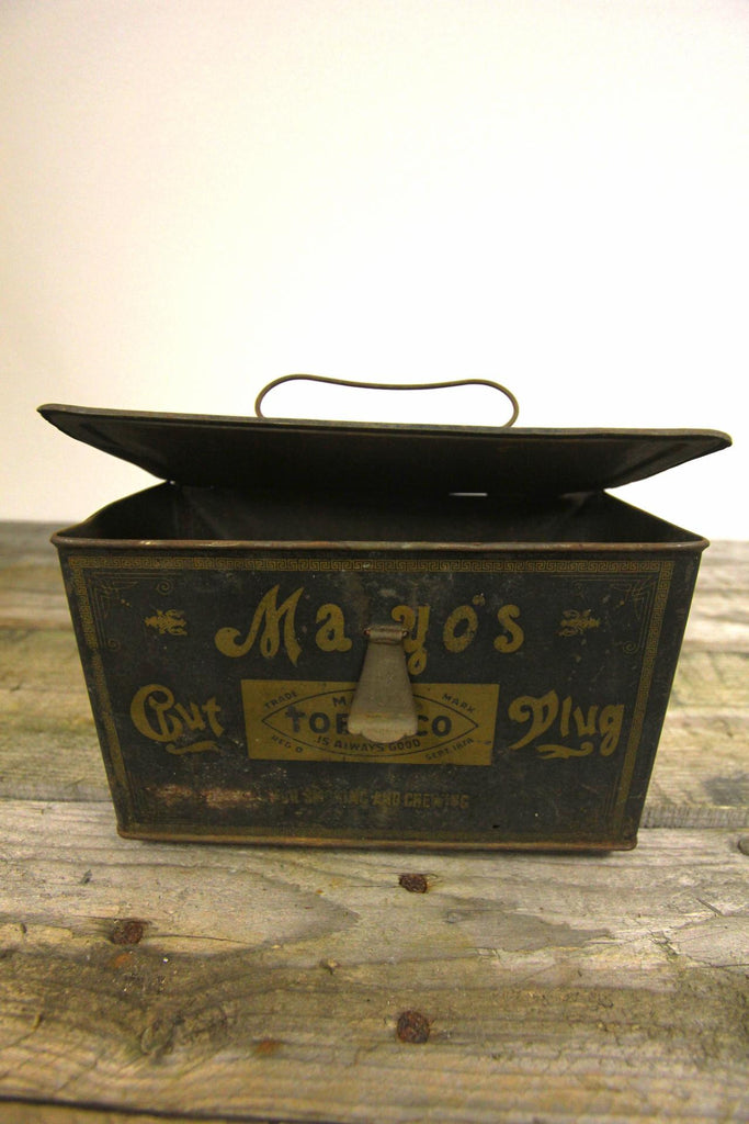 Mayo's Tobacco Tin Box