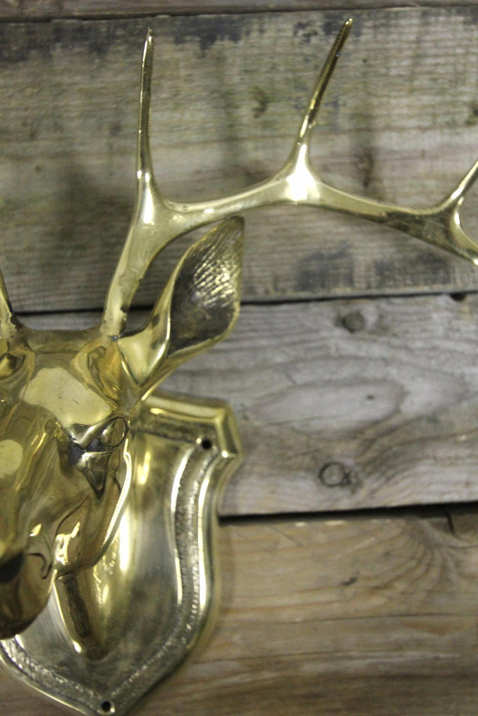 Brass Deer Head