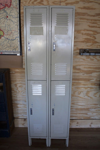 Four Cubby Lockers