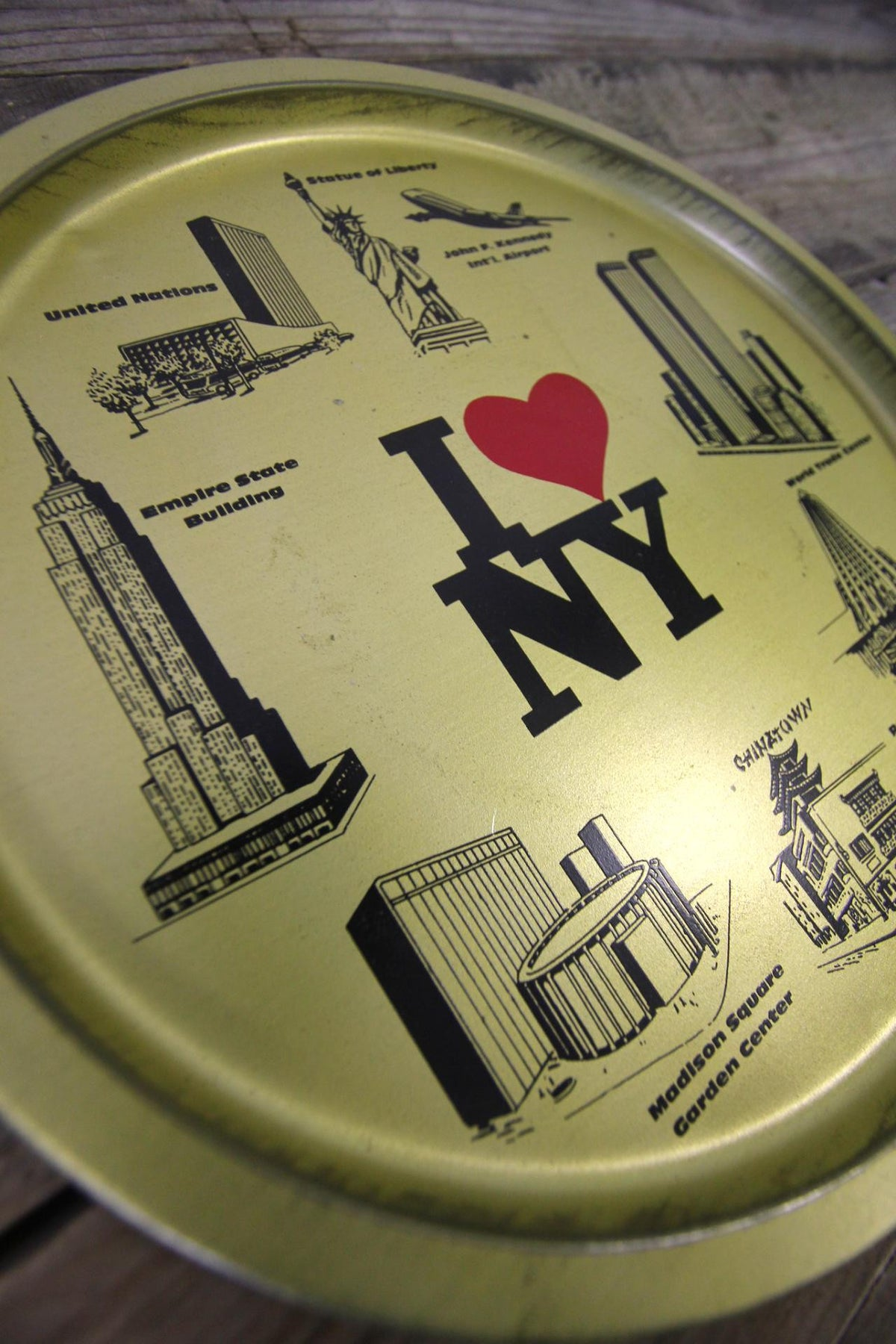 I Love NY Serving Tray
