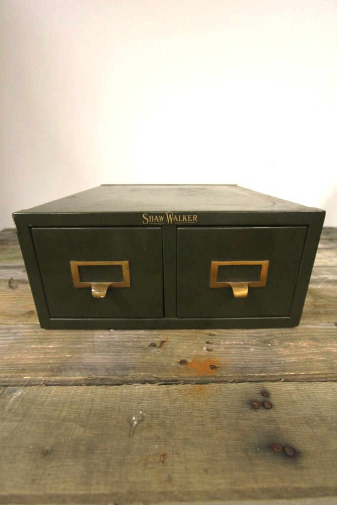 Shaw-Walker Steel 2 Drawer