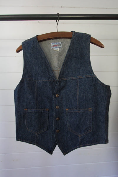 Vintage Carters Denim Vest
