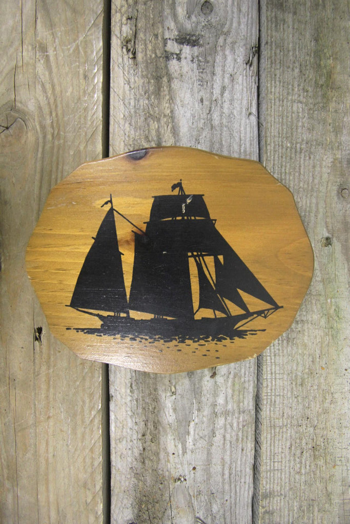 Schooner Pine Wall Art