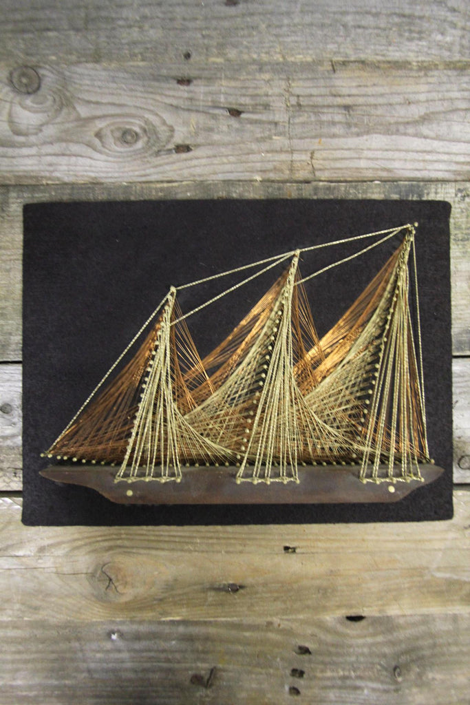 Schooner String Art Small