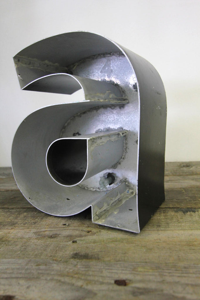 Metal Sign Letter Form A