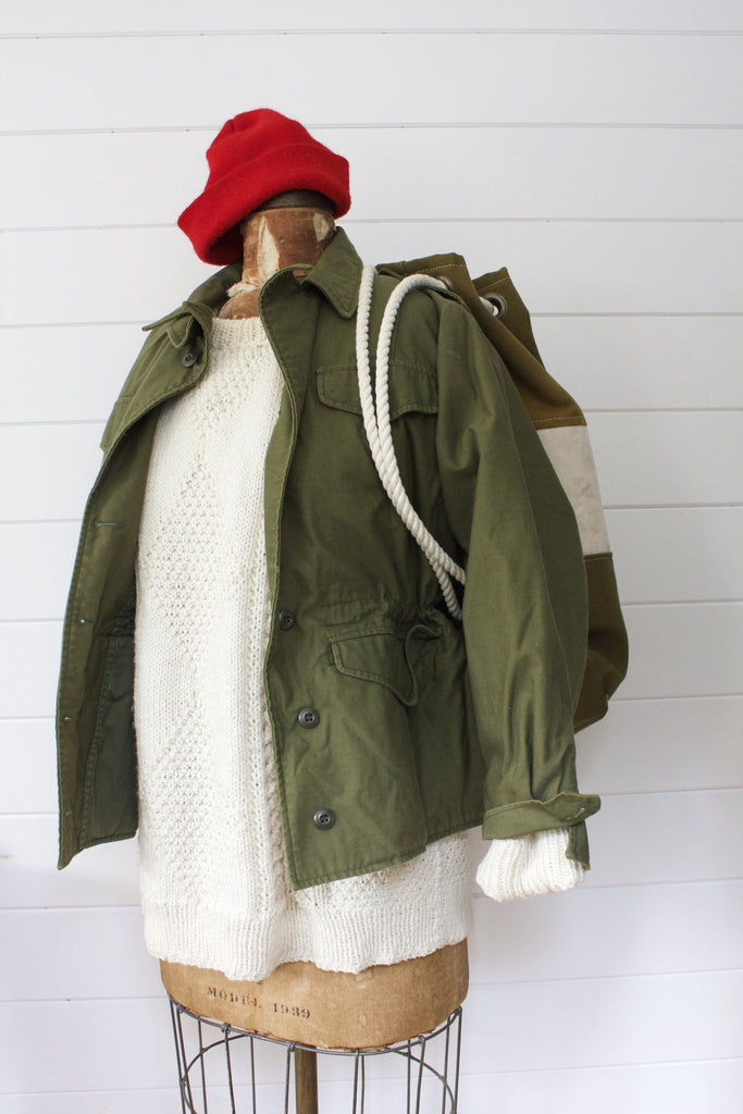 Vintage Women's Military Jacket