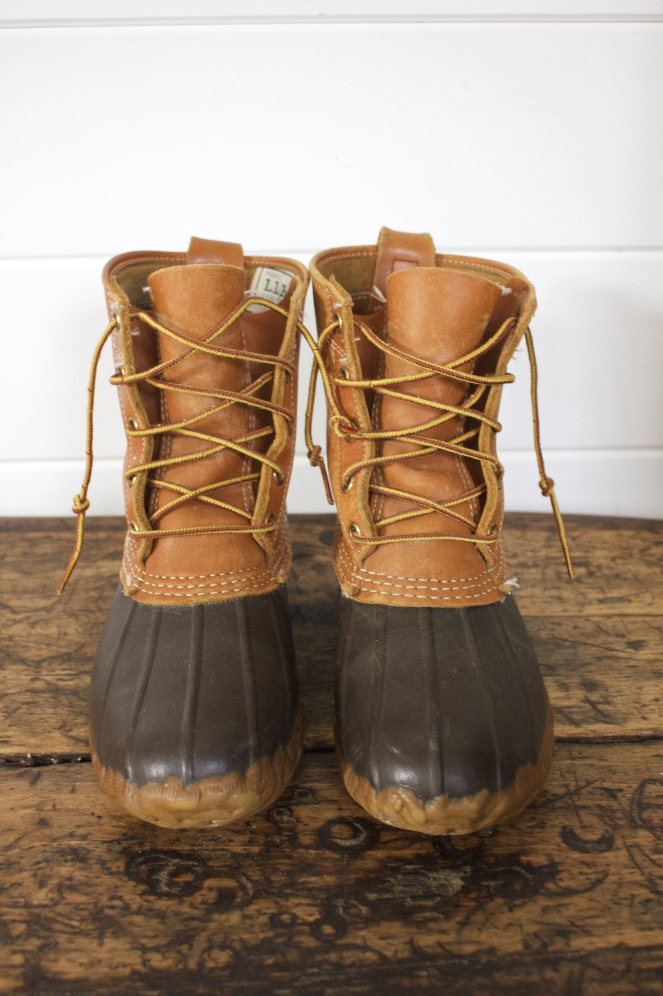 LL Bean Hunting Shoe - Diamonds & Rust