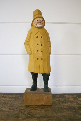 Wooden Gloucester Fisherman