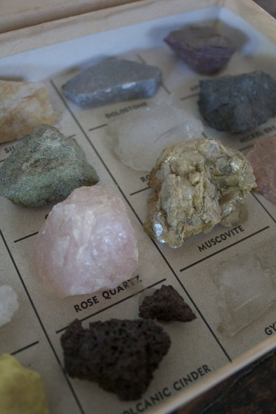 Rock and Mineral Collection - Diamonds & Rust