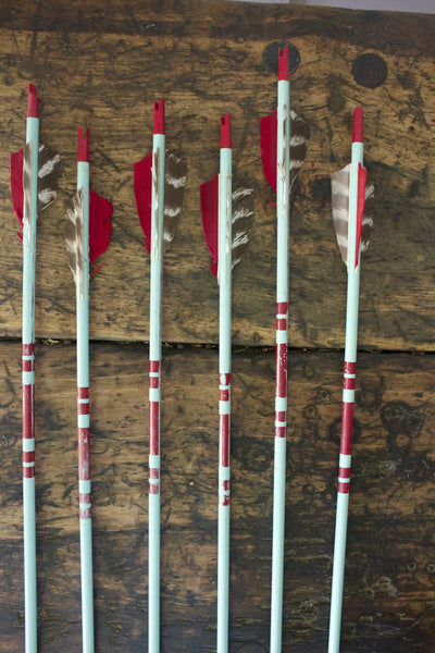 1950s Archery Set - Diamonds & Rust