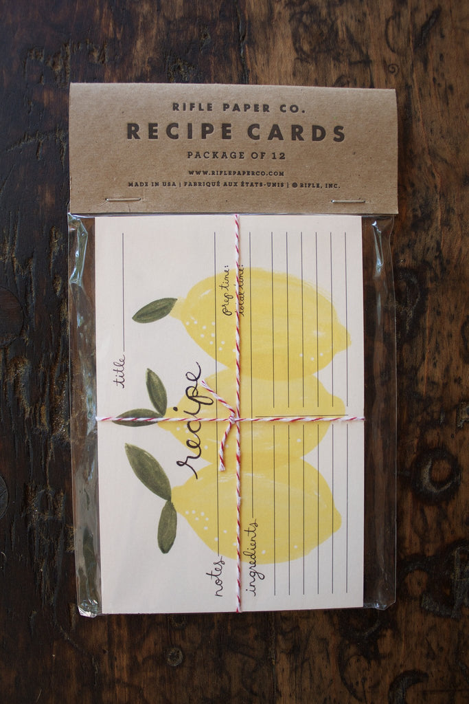 Citrus Recipe Cards - Rifle Paper Co.